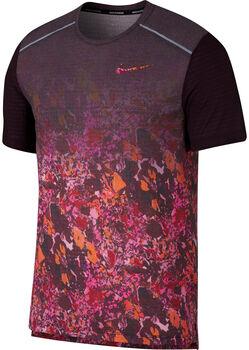 Nike Rise 36 Printed férfi futó póló Férfiak piros