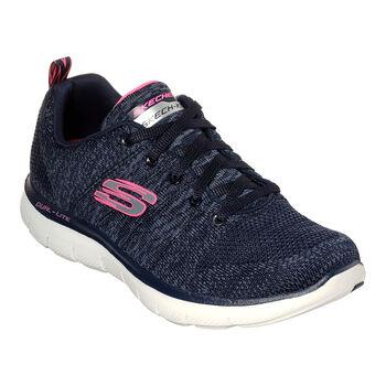 Skechers Flex Appeal 2.0 fitneszcipő Nők kék