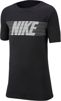 Nike Sportswear Therma fiú póló fekete