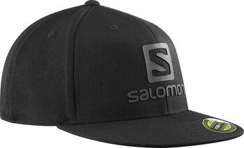 Salomon Logo Cap Flexflit baseball sapka fekete
