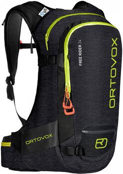 ORTOVOX  Free Rider 24hátizsák fekete