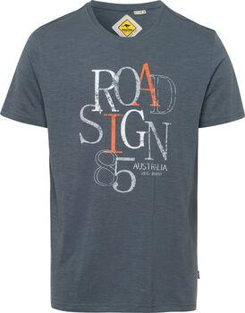 Roadsign 85 férfi póló Férfiak szürke