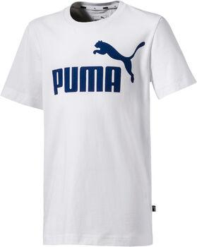 PUMA ESS Logo Tee gyerek póló törtfehér