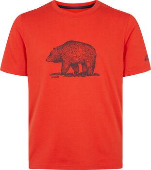 McKINLEY Fiú-T-shirt Zorra piros