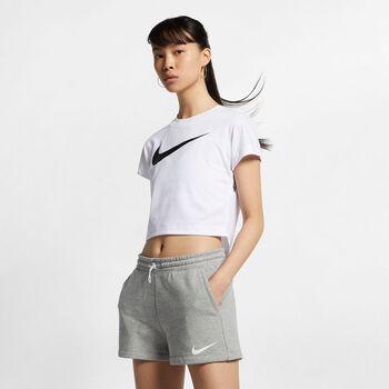 Nike Swoosh SS Crop Top női póló Nők fehér