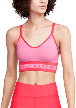 Under Armour Seamless Longline sportmelltartó Nők rózsaszín