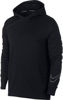 Nike Sphere Running Hoodie férfi kapucnis futófelső Férfiak fekete