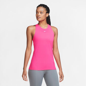 Nike Pro Tank All Over Mesh női top Nők rózsaszín