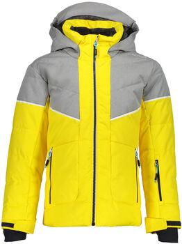 CMP Girl Jacket Fix Hood sárga