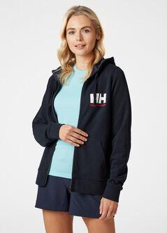 HH Logo FZ női kapucnis felső