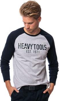 Heavy Tools Challenger férfi hosszú ujjú póló Férfiak szürke