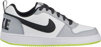 Nike Court Borough Low (GS) gyerek szabadidőcipő Fiú fehér