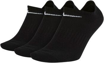 Nike Everyday Lightweight No-Show zokni (3pár) fekete