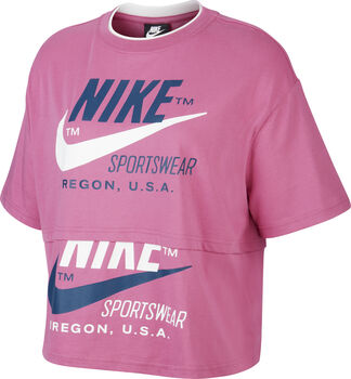 NIKE Női-T-shirt W NSW ICN Nők rózsaszín
