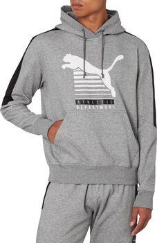Puma  Men Hooded Sweaterférfi kapucnis felső Férfiak szürke