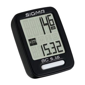 SIGMA BC 5.16 kerékpáros computer fekete