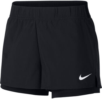 Nike Court Flex Tennis Shorts Nők fekete