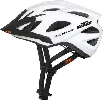 KTM Factory kerékpáros sisak Férfiak fehér