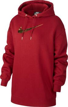 Nike Sportswear Hoodie BB OS Shine női kapucnis felső Nők piros