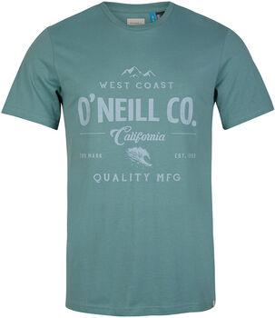 O'Neill  Lm W-Coastférfi póló Férfiak zöld
