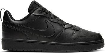 Nike  Court Borough Low 2gyerek szabadidőcipő Fiú fekete