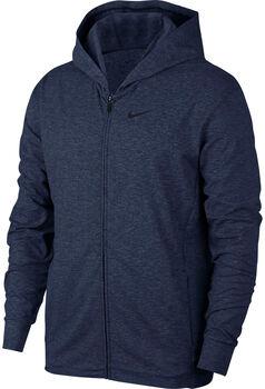 Nike Dri-FITFull-Zip Training Hoodie Férfiak kék