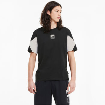 Puma  Rebel Advanced Teeférfi póló Férfiak fekete