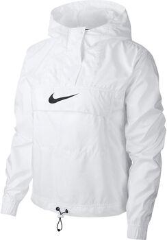 Nike Nsw Woven Animal kapucnis felső Nők fehér
