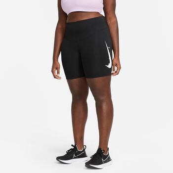 Nike W NK SWOOSH RUN 7IN női rövidnadrág Nők fekete