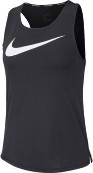 Nike Swoosh Run Tank női futótop Nők fekete