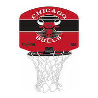 BaskBoard Mini ChicagoBulls mini kosárpalánk