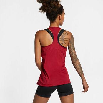 Nike W Pro Tank All Over Mesh női top Nők piros