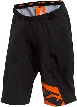 KTM  Gy.-Kerékp. nadrág Enduro Youth Shor fekete