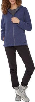 McKINLEY Lifestyle Ana női fleece kapucnis felső Nők kék