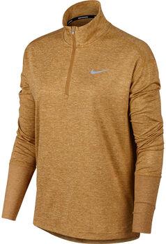 Nike W Element 1/2-Zip női futófelső Nők sárga