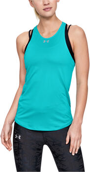 UNDER ARMOUR Qualifier Tank Nők kék
