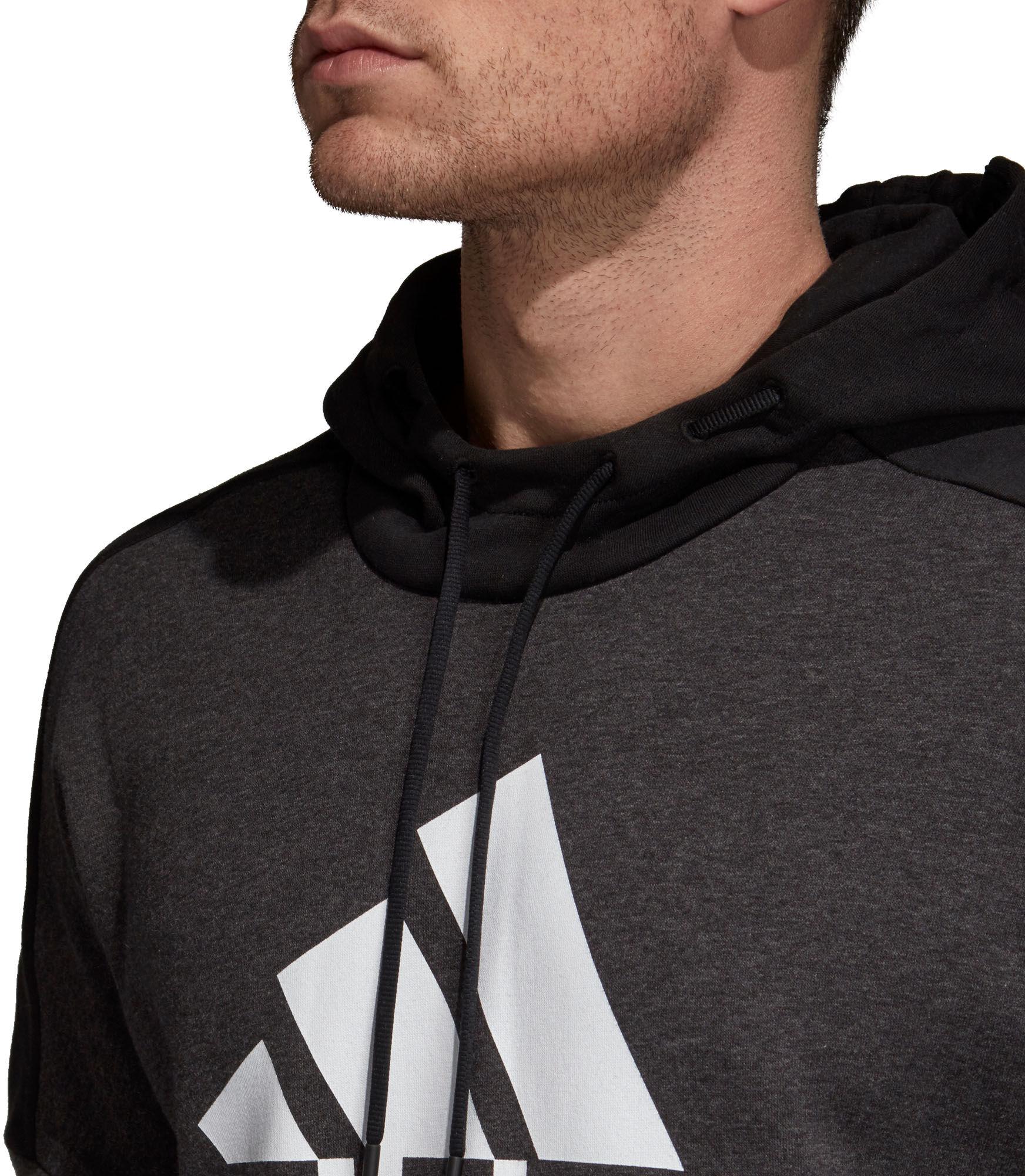 ADIDAS · M SID Logo PO FL férfi kapucnis felső Férfiak
