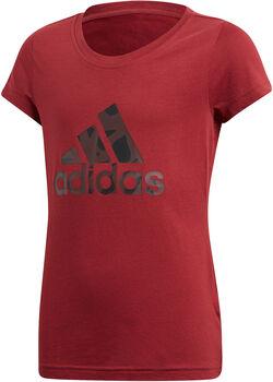 ADIDAS YG Logo Tee gyerek póló piros