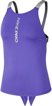 Nike W Pro Capsule Elastika női top Nők lila