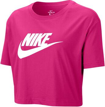 Nike Essential Cropped női póló Nők rózsaszín