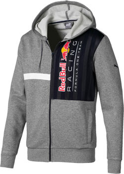 Puma Red Bull Racing Logo férfi kapucnis felső Férfiak szürke