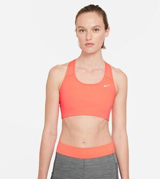 Nike Med Non Pad Bra Sportmelltartó Nők narancssárga