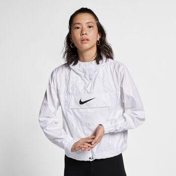 Nike Nsw Woven Animal női kapucnis felső Nők fehér