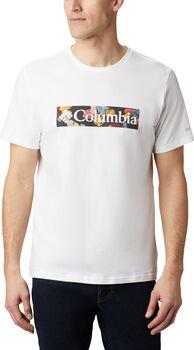 Columbia Rapid Ridge Graphic férfi póló Férfiak fehér