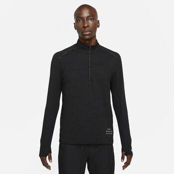 Nike Dri-FIT Element HZ férfi hosszú ujjú póló Férfiak fekete