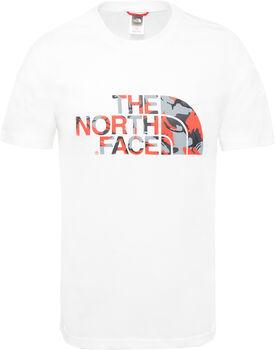 The North Face M Extent II férfi póló Férfiak fehér