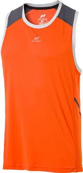 PRO TOUCH Akino ux férfi ujjatlan futófelső Férfiak narancssárga