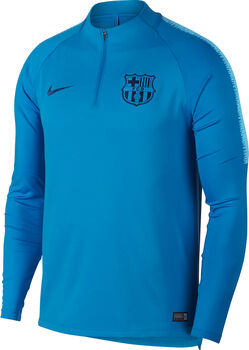 NIKE FCB M Nk Dry Sqd Dril Férfiak kék