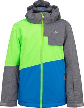 McKINLEY Snow Time Boys gyerek kabát zöld