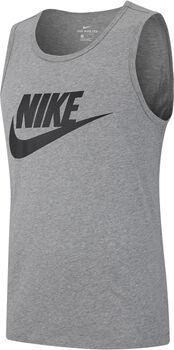Nike Icon Futura férfi ujjatlan felső Férfiak szürke